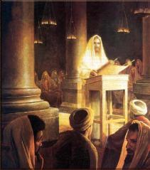 At Nazareth Synagogue