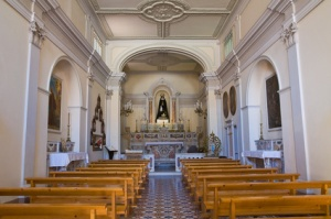 Church of Addolorata. Maratea. Basilicata. Italy.