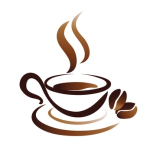 vector sketch of coffee cup, icon