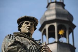 Luther Denkmal Eisleben