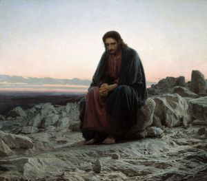 Christ-In-The-Wilderness-Ivan-Kramskoy