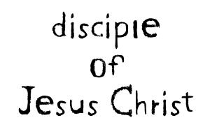 disciple-of-jesus-christ